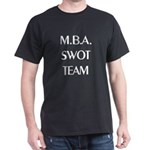 MBA SWOT Team Midnight Black T-Shirt