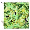 Toucans, Tropical Forest Shower Curtain