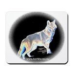 Ghost Wolf Mousepad