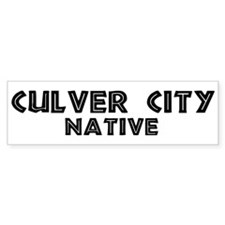 Culver City California Bumper Sticker | Culver City California ...