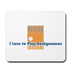Backgammon Mousepad