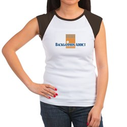 Backgammon Women's Cap Sleeve T-Shirt