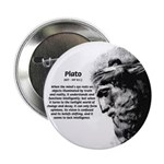 """Plato Truth Reality 2.25"""" Button (10 pack)"""