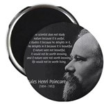 "Poincare: Nature Science 2.25"" Magnet (10 pack)"