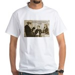 Leo Tolstoy: God Quotes White T-Shirt