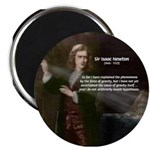 "Sir Isaac Newton: Gravity 2.25"" Magnet (100 pack)"