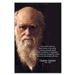 Charles Darwin: God Creation Large Poster