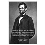 Abraham Lincoln Large Poster