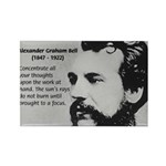 Alexander Graham Bell Rectangle Magnet (100 pack)
