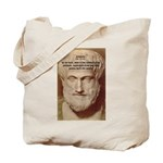 Greek Philosophers: Aristotle Tote Bag