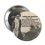 "Ludwig van Beethoven 2.25"" Button (100 pack)"