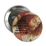 Euclid: Math and Philosophy Button