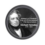 Michael Faraday Wall Clock
