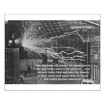 Alternating Current: Tesla Small Poster