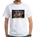 Socrates: Knowledge Books Wisdom White T-Shirt