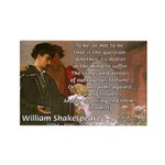 Hamlet Famous Soliloquy Rectangle Magnet (100 pack
