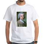 French Philosopher Rousseau White T-Shirt