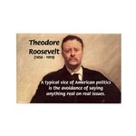Theodore Roosevelt Rectangle Magnet (100 pack)