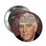 """American President FDR 2.25"""" Button (100 pack)"""