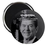"Humour of Ronald Reagan 2.25"" Magnet (100 pack)"