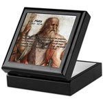 Plato: Philosophy / Equality Keepsake Box