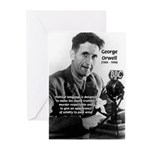 Politics / Language: Orwell Greeting Cards (Packag