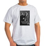 Nietzsche Love Madness Reason Ash Grey T-Shirt