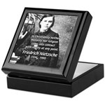 Critic of Religion: Nietzsche Keepsake Box