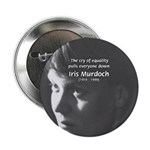 "Iris Murdoch Equality 2.25"" Button (10 pack)"