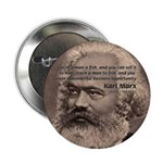 History Analyst Karl Marx Button