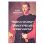 Political Theory: Machiavelli Large Poster