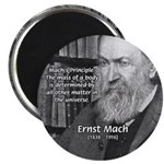 """Cosmology: Mach's Principle 2.25"""" Magnet (100 pack"""