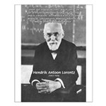Nobel Prize Physics Lorentz Small Poster