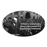 USSR Foundation Lenin Oval Sticker