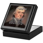 Media Thomas Jefferson Keepsake Box