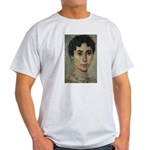 Wisdom of Greece: Hypatia Ash Grey T-Shirt