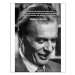 Humanist Aldous Huxley Small Poster