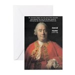 Christianity and David Hume Greeting Cards (Packag