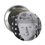 Government Bill Clinton Button