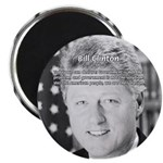 Government Bill Clinton Magnet