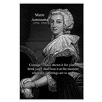 Courage Marie Antoinette Large Poster