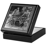 Marie & Pierre Curie Good Evil Keepsake Box