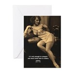 Voltaire: Seduction Victory Greeting Cards (Packag