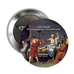 Know Thyself Socrates Quote Button