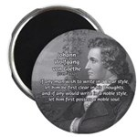 "Goethe on Pure Thought 2.25"" Magnet (10 pack)"