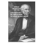 Nature Wordsworth Poetry Large Poster