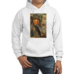 Cezanne Emotion Artistic Quote Hooded Sweatshirt