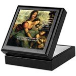 Leonardo da Vinci Art Spirit Keepsake Box