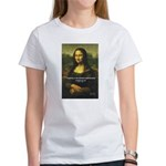 Mona Lisa: Da Vinci Quote Women's T-Shirt