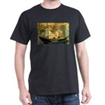 French Painter Manet Quote Black T-Shirt